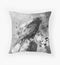 The Lookout Post Throw Pillow