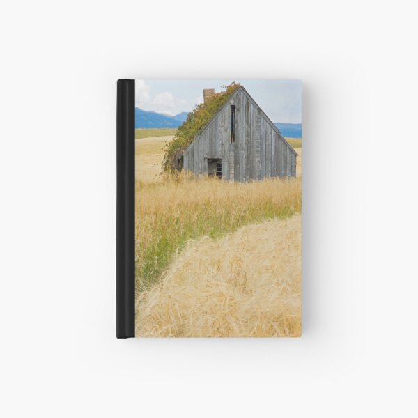 Broke Down Beauty, a.k.a. the Butt of the Barn Hardcover Journal