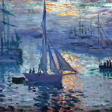 Claude Monet Sunrise - Marine by pdgraphics