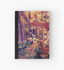 The Woods are Ablaze Hardcover Journal