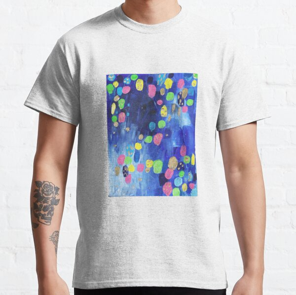 Abstract Candy Rain  Classic T-Shirt