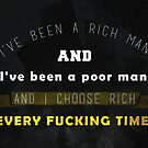 Wolf Of Wall Street Quote Rich Man Poor Man by SuccessHunters
