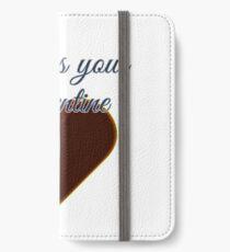 Undress your Valentine iPhone Flip-Case/Hülle/Skin
