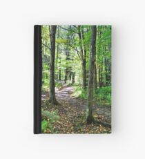 In The Woods With Nature Hardcover Journal