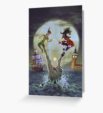 Peter Pan Greeting Card