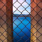 Peeking Through Maroondah Dam Wall by Jason Green
