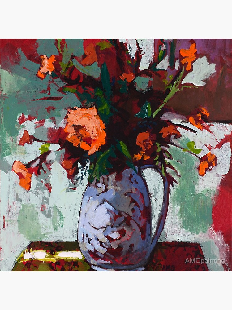 Marigolds Gone Wild by AMOpainting