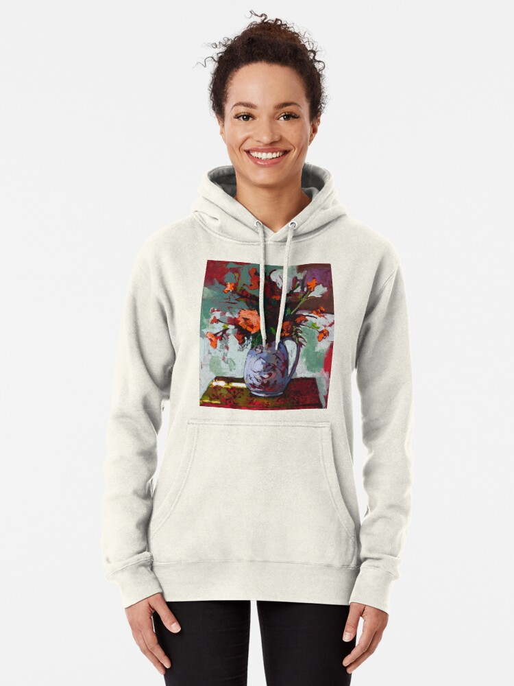 Alternate view of Marigolds Gone Wild Pullover Hoodie