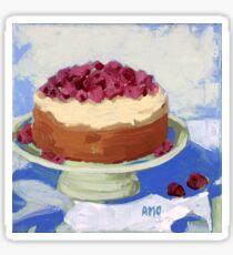 Raspberry Cream Cake Sticker