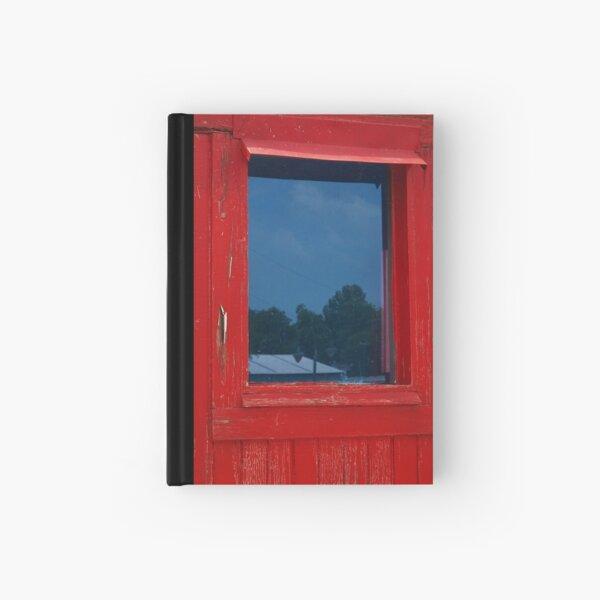 A Peeling Window Hardcover Journal