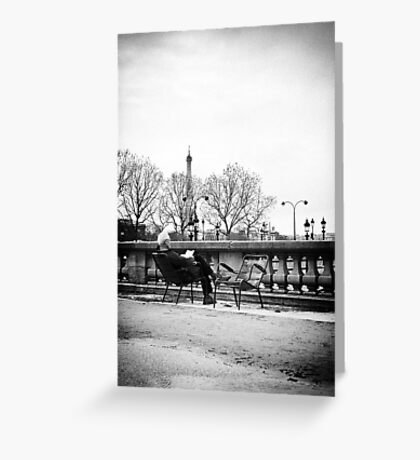 French touch Greeting Card