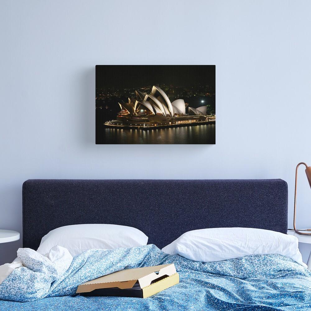 Opera House at Night, Sydney, Australia Canvas Print