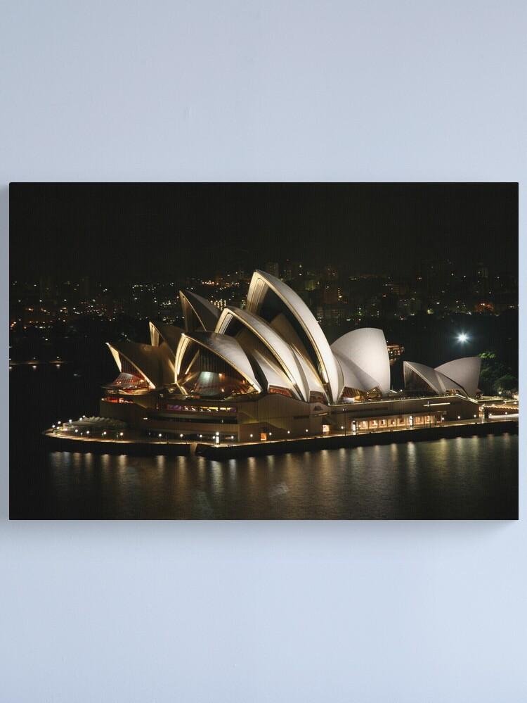 Alternate view of Opera House at Night, Sydney, Australia Canvas Print