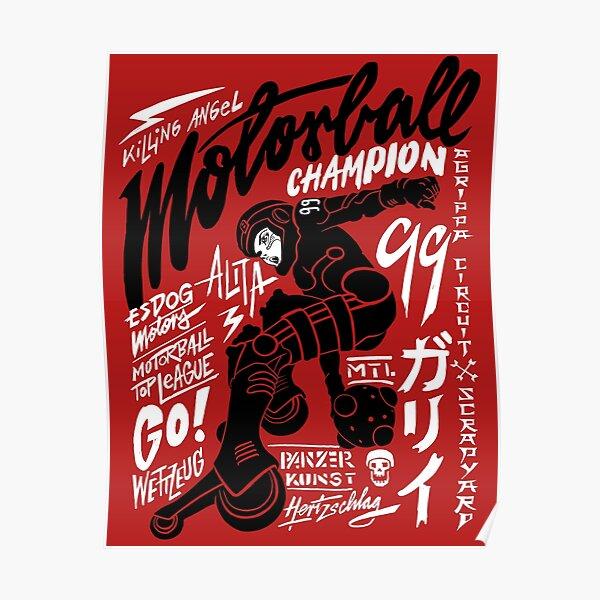 Motorball Alita Poster