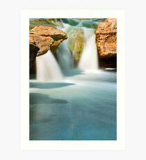 Mckinney Upper Falls (vertical) Art Print