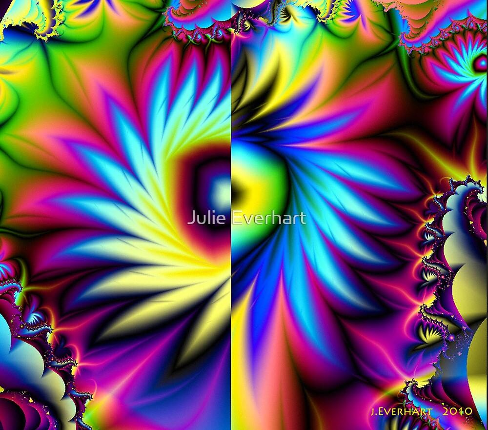 Wild Fractal Flower by Julie Everhart