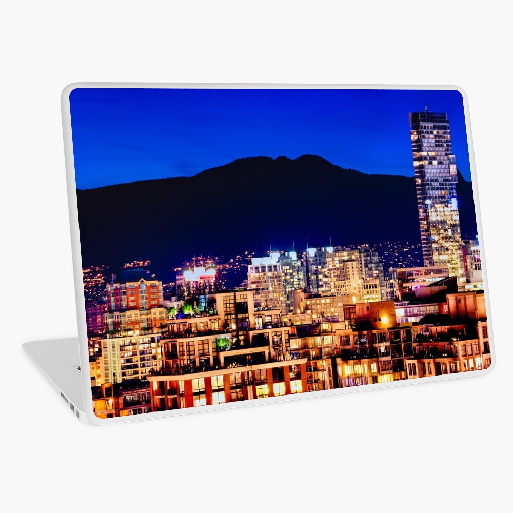 Shangri La Hotel and Vancouver Grousse Mountain Canada Laptop Skin