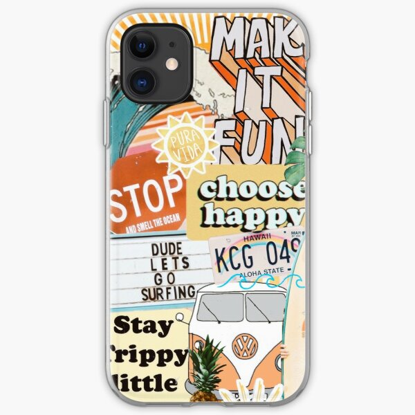 Summer Collage iPhone Soft Case