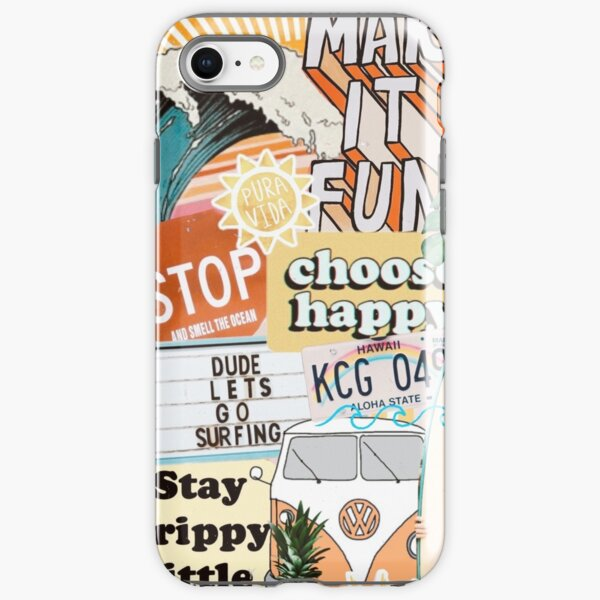 Summer Collage iPhone Tough Case