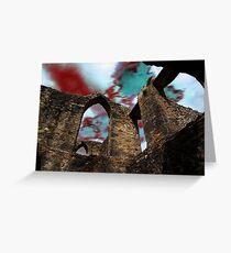 Foretelling of Ruinous Skies Greeting Card