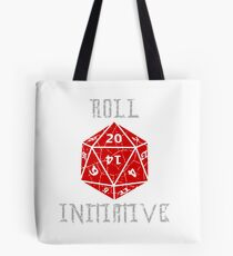 Roll Initiative Dungeons & Dragons gift idea Tote Bag