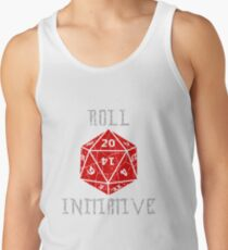 Roll Initiative Dungeons & Dragons gift idea Men's Tank Top
