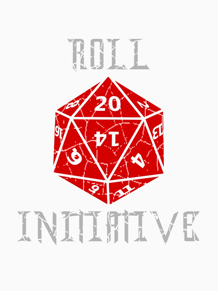 Roll Initiative Dungeons & Dragons gift idea by wirelessjava