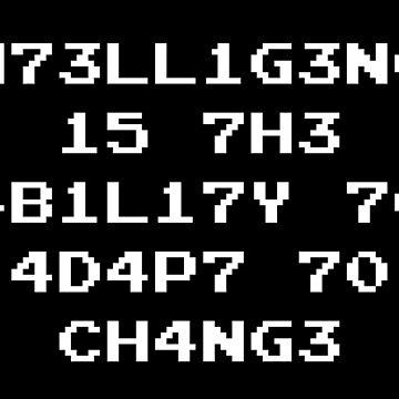 Intelligence ability Geschenk von tw07