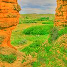 From a Hole in the Rock in HDR by Darcy Overland