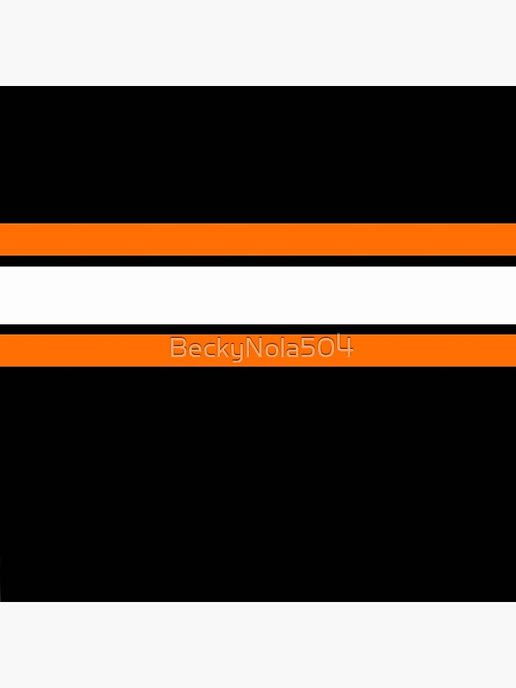 Team Colors 2....Orange, white and black by BeckyNola504