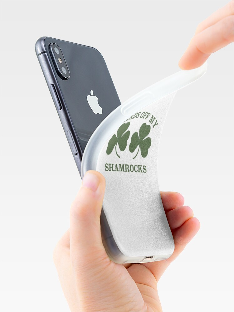 Alternate view of St Patrick's Day Shamrocks iPhone Case & Cover