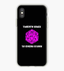Dungeons & Dragons 20 sides to Every Story iPhone Case