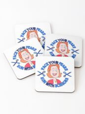 Face your fears - Crazy ex-girlfriend Coasters