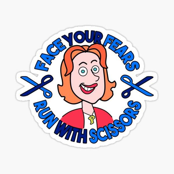 Face your fears - Crazy ex-girlfriend Sticker