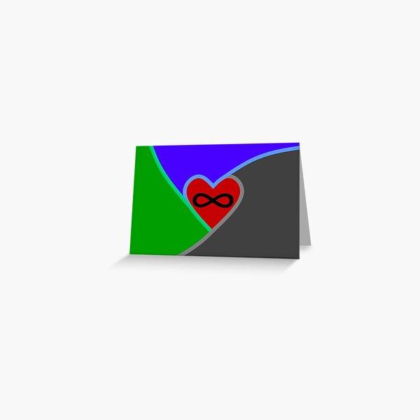 Polyamorous Flag Greeting Card