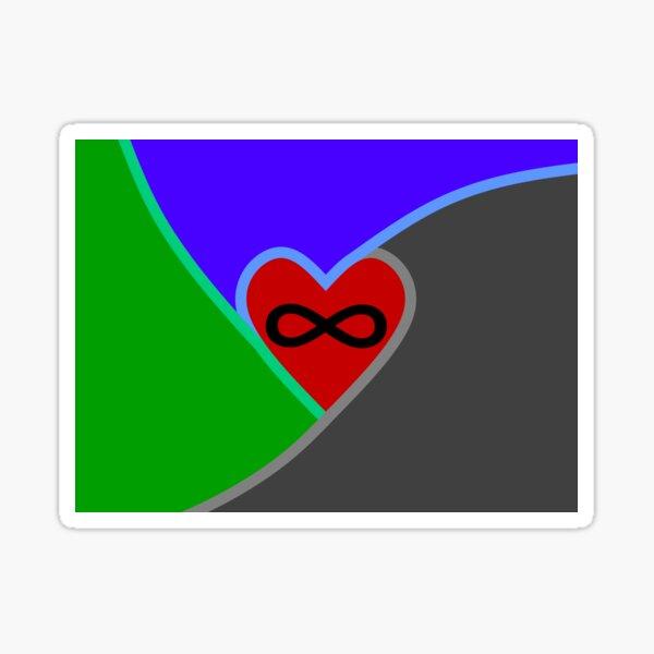 Polyamorous Flag Sticker