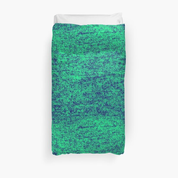 Minty Texture Duvet Cover