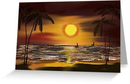Sunset by senarau