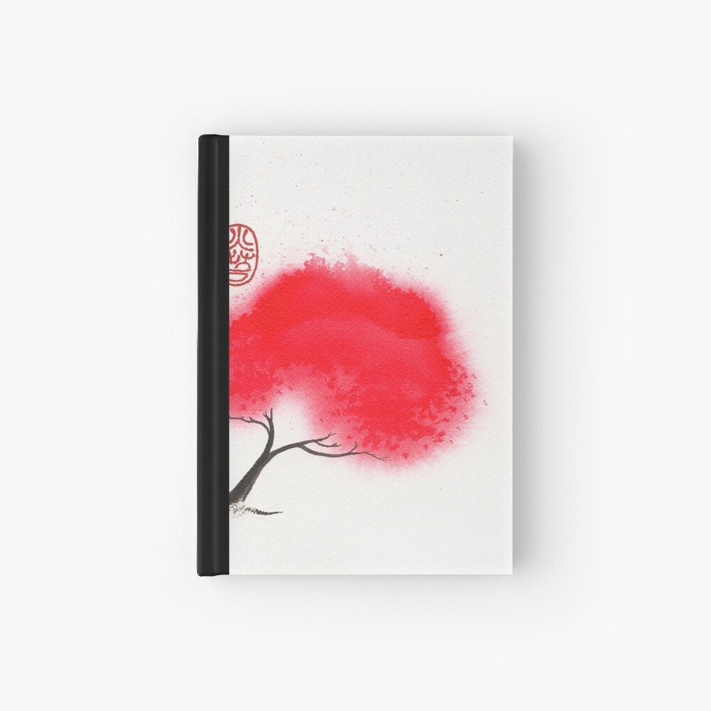 Flame Tree Hardcover Journal