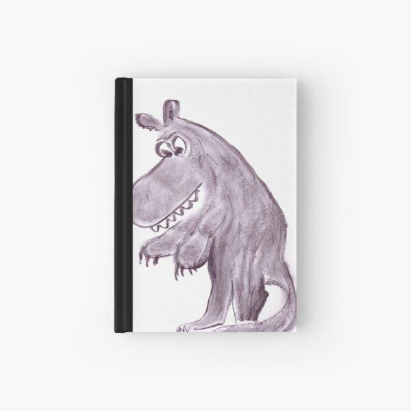 Frightening werwolf Hardcover Journal
