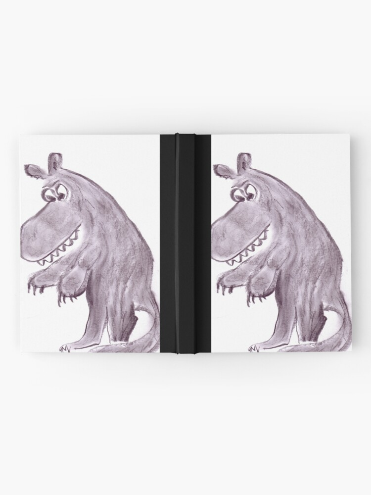 Alternate view of Frightening werwolf Hardcover Journal