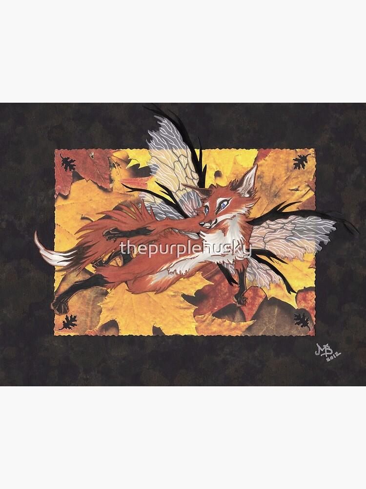 Fox Fae by thepurplehusky