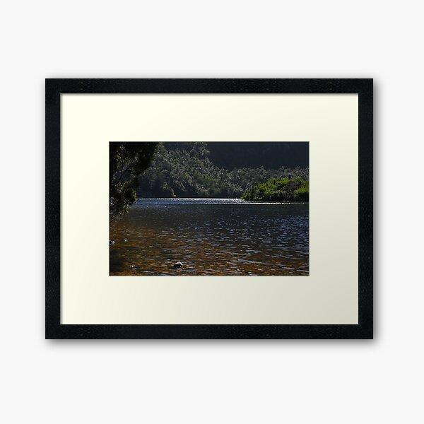 Dove Lake Framed Art Print