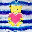 Bear Love by vickievansart