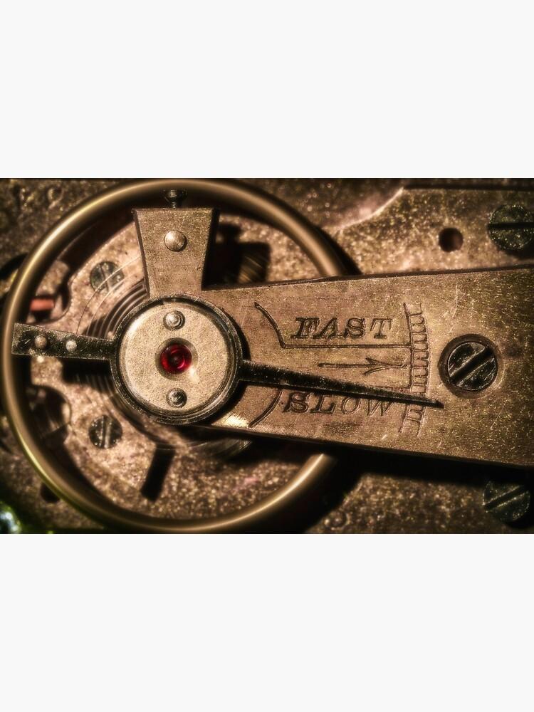 Vinatge clock mechanism by fardad
