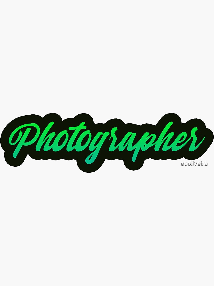Photographer Green by epoliveira