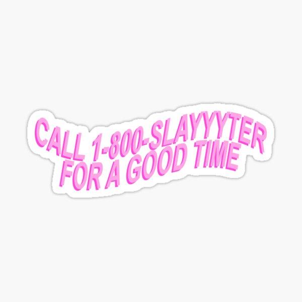 slayyyter Sticker