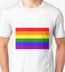 Rainbow LGBTA Flag Unisex T-Shirt