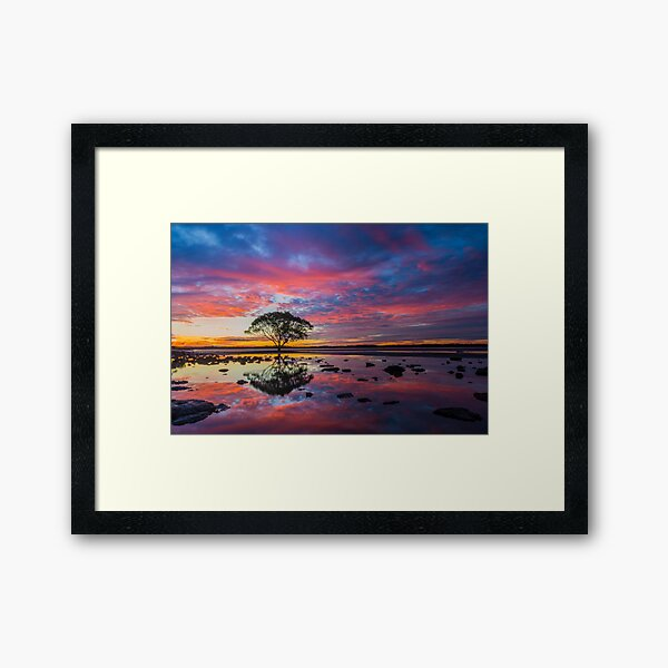 Australian Sunset Framed Art Print