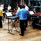 Percussion ensemble at the Royal Opera House by shakey123